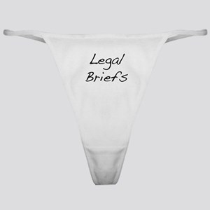 Legal Briefs Classic Thong