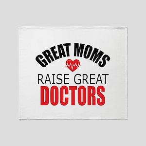 Moms Raise Doctors Throw Blanket