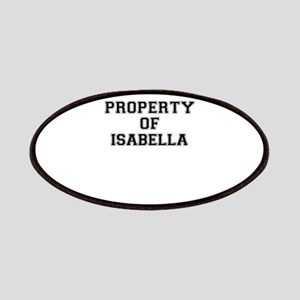 Property of ISABELLA Patch