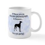 Italian Greyhounds In Heaven Mug