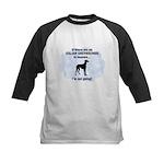 Italian Greyhounds In Heaven Kids Baseball Jersey
