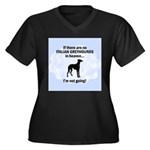 Italian Greyhounds In Heaven Women's Plus Size V-N