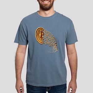 PREMIUM VINTAGE BITCOIN RIPPLE FLAG T-Shirt