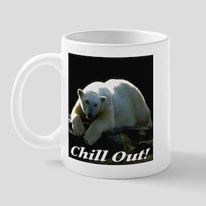 Chill Out Polar Bear Mug