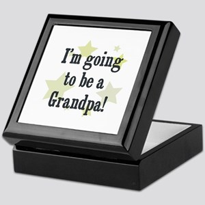 I'm going to be a Grandpa! Keepsake Box