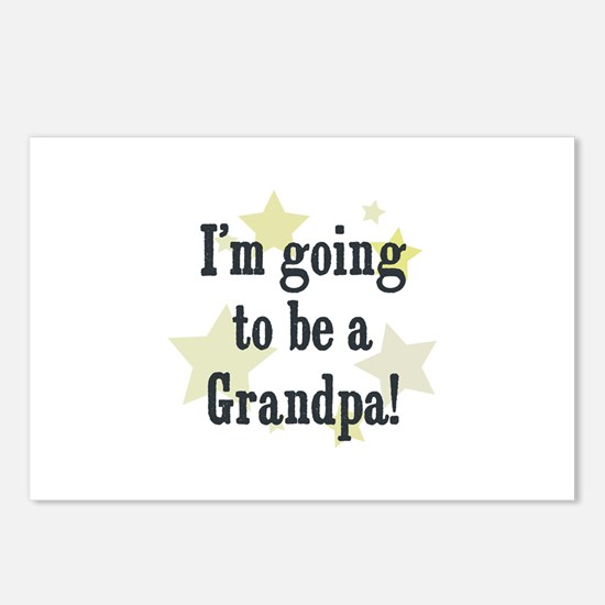 I'm going to be a Grandpa! Postcards (Package of 8