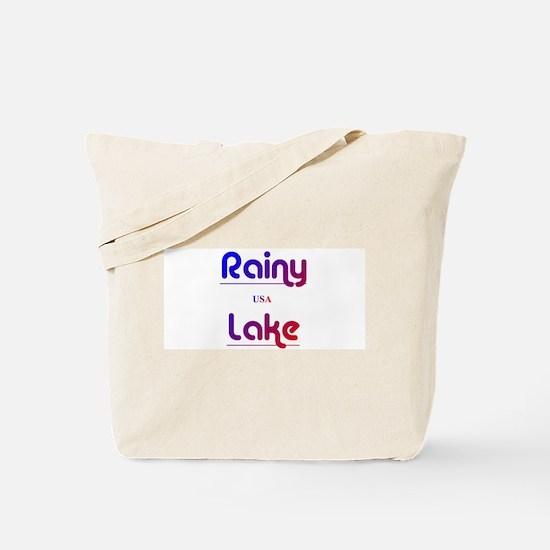 Rainy Lake Tote Bag