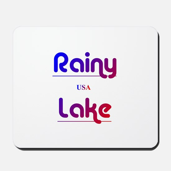 Rainy Lake Mousepad