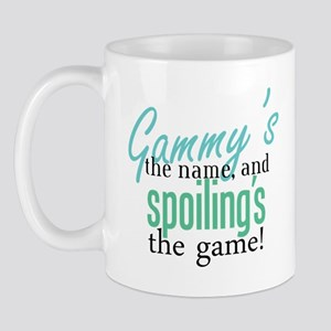 Gammy's the Name, and Spoiling's the Game! Mug