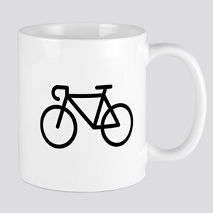 Racing Bicycle (Icon / Pictogram / Black) Mugs