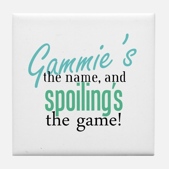 Gammie's the Name, and Spoiling's the Game! Tile C