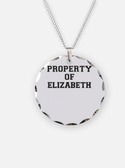 Property of ELIZABETH Necklace