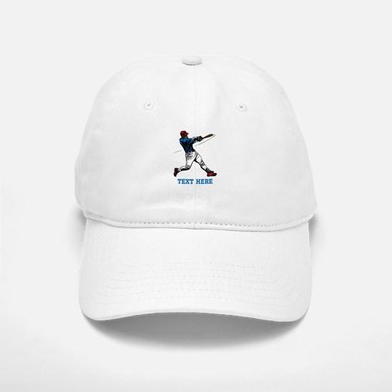 Custom Text Baseball Design Baseball Baseball Baseball Cap