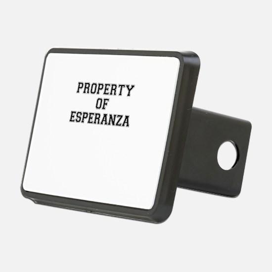 Property of ESPERANZA Hitch Cover