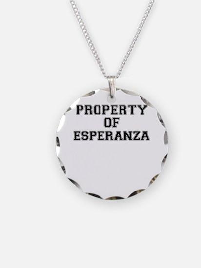 Property of ESPERANZA Necklace