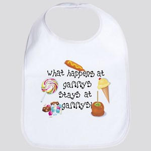 What Happens at Gammy's... Funny Baby Bib