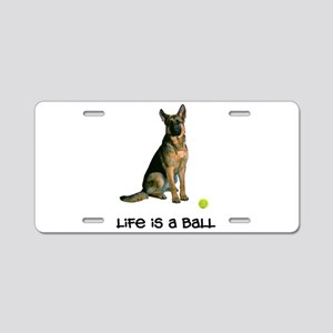 German Shepherd Life Aluminum License Plate