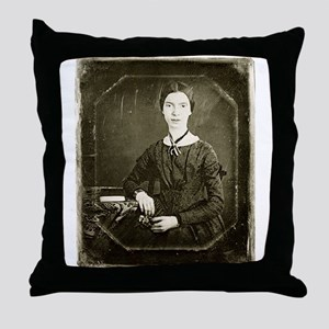 Emily Dickinson Throw Pillow