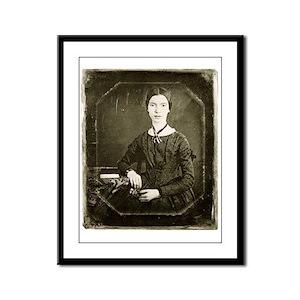 Emily Dickinson Framed Panel Print