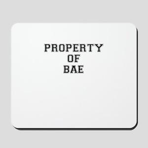Property of BAE Mousepad