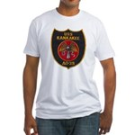 USS KANKAKEE Fitted T-Shirt