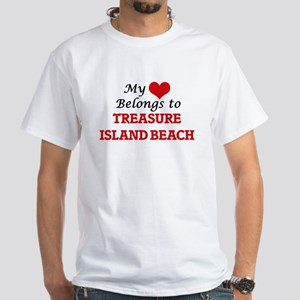 My Heart Belongs to Treasure Island Beach T-Shirt