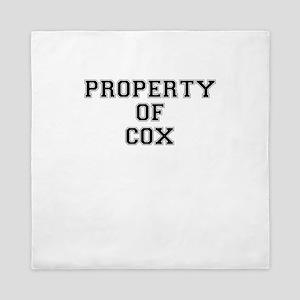 Property of COX Queen Duvet