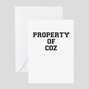 Property of COZ Greeting Cards
