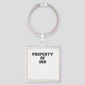 Property of DEB Keychains