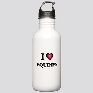 I love EQUINES Stainless Water Bottle 1.0L