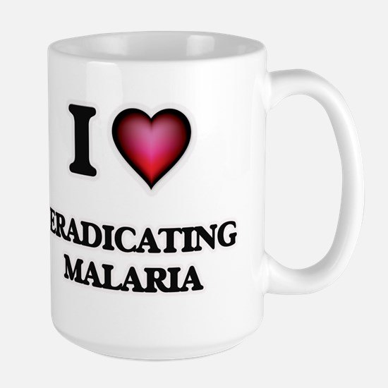 I love Eradicating Malaria Mugs