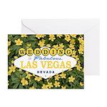 WEDDING in Las Vegas Cards (Pk of 10)