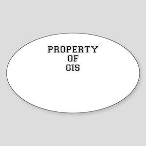 Property of GIS Sticker
