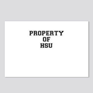 Property of HSU Postcards (Package of 8)