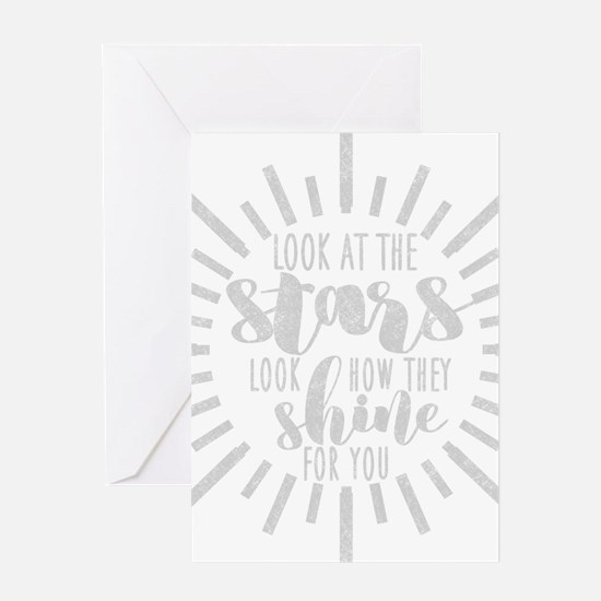 Unique Lyric Greeting Card
