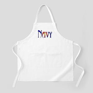 Navy BBQ Apron