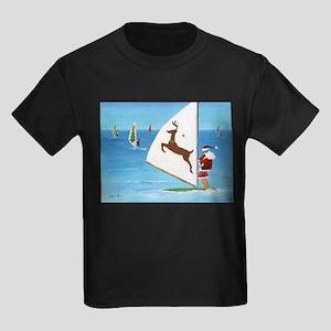 Wind Sailing Santas T-Shirt