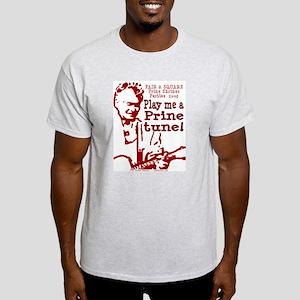 RED Ash Grey T-Shirt