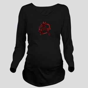 Anarchy Long Sleeve Maternity T-Shirt