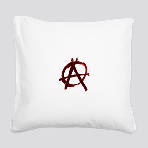 Anarchy Square Canvas Pillow