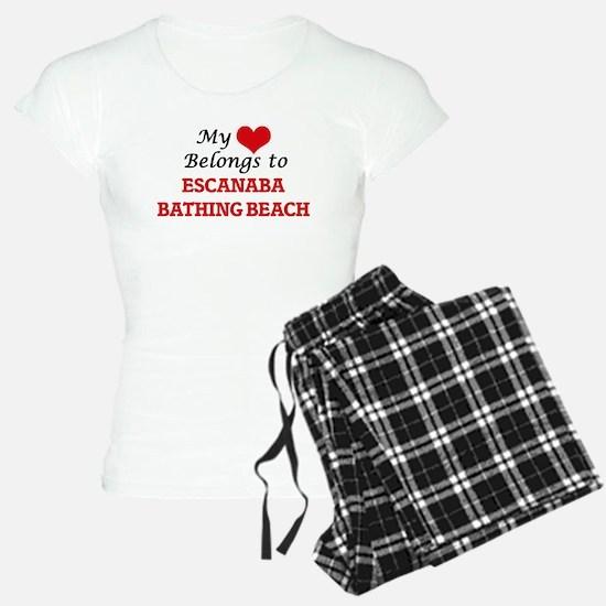 My Heart Belongs to Escanab Pajamas