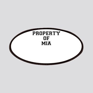 Property of MIA Patch