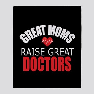 Moms Raise Doctors Throw Blanket