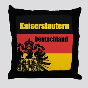 Kaiserslautern Deutschland Throw Pillow