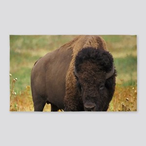 American Bison Area Rug