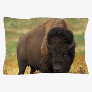 American Bison Pillow Case