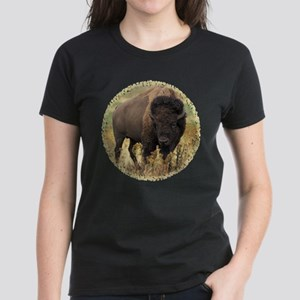 American Bison Women's Dark T-Shirt
