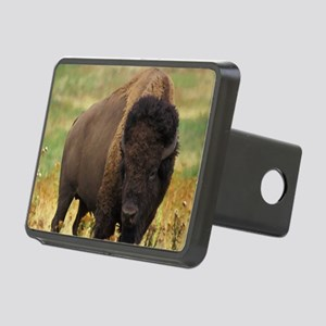 American Bison Rectangular Hitch Cover