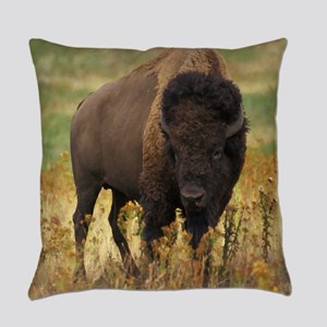 American Bison Everyday Pillow