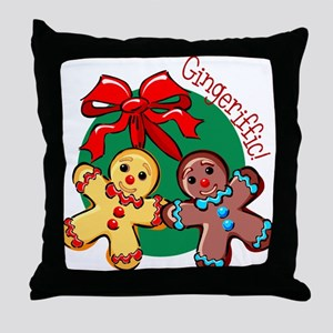 Gingeriffic! Throw Pillow